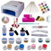 PROMO Kit gel UV Lampa UV geluri de constructie si colorate