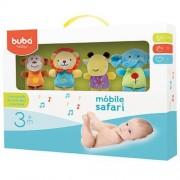 Móbile Musical para Bebe Safari Friends (3m+) - Buba
