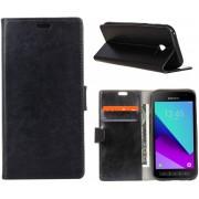 Knaldeals.com - Samsung Galaxy Xcover 4 hoesje - Book Wallet Case - zwart