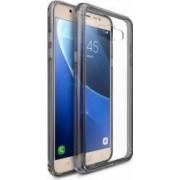 Husa Ringke Samsung Galaxy J7 J710 2016 Fusion Smoke Black + Folie Ringke Invisible Screen Defender