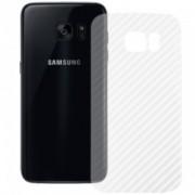 Folie Protectie Spate Samsung Galaxy S7 Edge - Carbon
