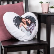 Personalised Heart Pillow with photo
