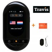 "Travis Translators Travis Touch Translator ""Travel Edition"" (Travis Touch Vertaalapparaat + SimCard voor Gratis Internet + Hoes)"