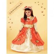 Costume Damigella baby 1/2 anni
