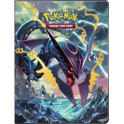Ultra-Pro Pokemon Card Portfolio Album featuring Rayquaza & Groudon Ancient Origins (9-Pocket Album/Portfolio Holds 90-180 Cards)