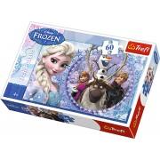 Puzzle, 60 piese, Elsa si Kristoff