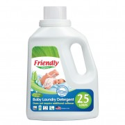 Friendly Organic detergent lichid hipoalergenic pentru hainele bebelusului, 739 ml