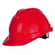 Casca de protectie industriala ventilata / rosu