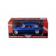 Motor Max 1955 Chrysler C300 Hard Top, Blue - 73302AC/BU 1/24 Scale Diecast Model Toy Car