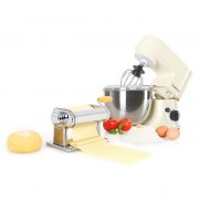 Klarstein Carina Morena Pasta Maker Set Food Processor 800W 4L Stainless Steel Bowl