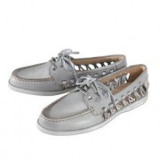 """Leisure Sperry Top-Sider """"Lady"""", 4 - Grey/Silver"""