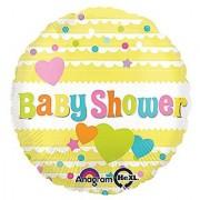 Anagram International Baby Shower Yellow Balloon Multicolor