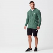 Myprotein Performance Zip Top - M - Dark Green Marl