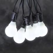 24 V LED beer garden string lights, E10, white