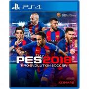 Playstation pro evolution soccer 2018 ps4