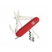 Couteau Suisse Victorinox 10 Pieces Compact Rouge