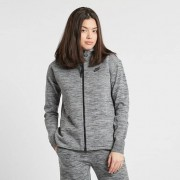 Nike w nsw tech knit jacket hd Carbon Heather/Black/Cool Grey/Black