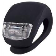 Futaba Silicone Bicycle Front LED Flash Light - Black