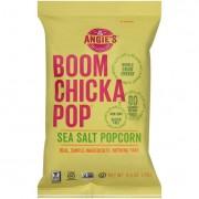 Angie's Kettle Corn Boom Chicka Pop Sea Salt Popcorn - Case of 24 - 0.6 oz.
