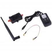 ER Professional 2,4 GHZ 4W AMPLIFICADOR DE BANDA ANCHA INALÁMBRICA Wifi Router Amplificador De Señal -Negro