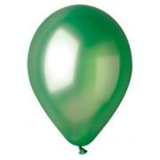 100 baloane rotunde verde metalizate