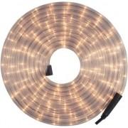 Merkloos Lichtslang / lichtsnoer voor buiten kerstverlichting wit 9 meter