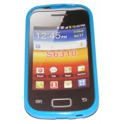 Силиконов гръб ТПУ за Samsung S6310 Galaxy Young Син