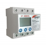 Protector De Tension Trifasico Configurable Gralf Gf-ab80xl