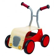Hape International Hape E0374 Push & Pull - Little Red Rider Ride On