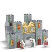 Melissa & Doug houten kasteelblokken 28 stuks