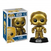 Funko Pop Star Wars C-3PO C3PO Droid The Force Awakenes-Multicolor
