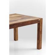 Kare Design Authentico Eettafel - L160xB80xH75 Cm - Sheesham Hout - Bruin