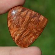 Cabochon opal de lemn 38x36x8mm R3