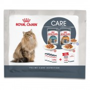 Royal Canin Hairball & Intense Beauty 4 x 85 g - Pack de prueba - 4 x 85 g (3 variedades)