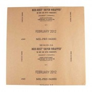 Brownells Gunwrap Paper - Paper Bulk Pak, 50 Sheets