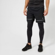 Asics Running Men's Lite Show 7 Inch Shorts - Performance Black - L - Black