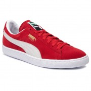 Puma Sneakersy PUMA - Suede Classic+ 352634 65 High Risk Red/White