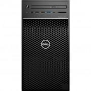 PC Dell Precision T3640, 2HH24, Tower, Intel Xeon W 1270P 8C/16T, 512GB SSD, 16GB, nVidia Quadro P2200 5GB, Windows 10 Professional, crna, 36mj, Tipk., Miš