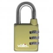 Wallis candado de combinación wallis verde