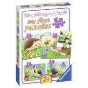 Primul Meu Puzzle Animale Din Padure 2 4 6 8 Piese