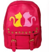 KaryJerry KaryJerry Women fashionable Backpack Waterproof Backpack(Red, 6 L)