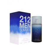 Apa de toaleta Carolina Herrera 212 Men Summer, 100 ml, pentru barbati