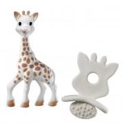 Sophie La Girafe Pack Brinquedo Mordedor + Chupeta de Dentição