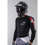Alpinestars Schutzjacke Alpinestars Bionic Plus Schwarz-Rot-Weiß