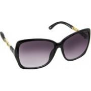 David Blake Cat-eye Sunglasses(Violet, Grey)