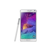 "Samsung Smartphone Samsung Galaxy Note 4 Sm N910f 5.7"" Super Amoled 32 Gb Quad Core 4g Lte Wifi 16 Mp Android Refurbished Bianco"