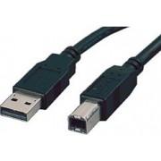 USB kabel 3m, AM - BM, Roline, crni