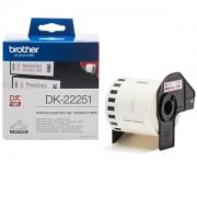 Brother DK-22251 (Noir et Rouge/Blanc) - ORIGINAL