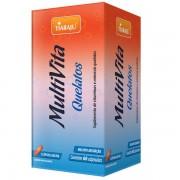 Multivita Quelatos 500 mg 60 Cápsulas - Tiaraju