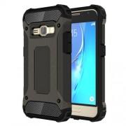 Samsung Galaxy J1 (2016) Case, J120 Case, Tough Armor TPU + PC Combination Case (Bronze)